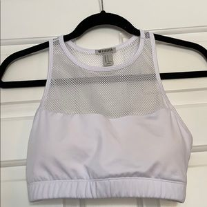 Sports bra - white size medium. Never worn!